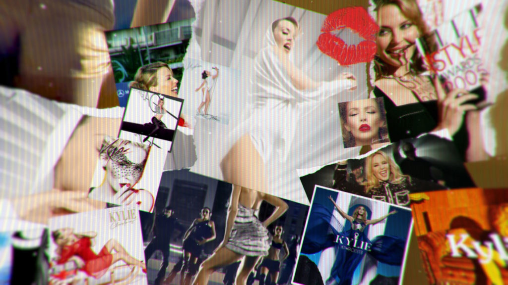 visual effects london kylie at 50 title sequence image