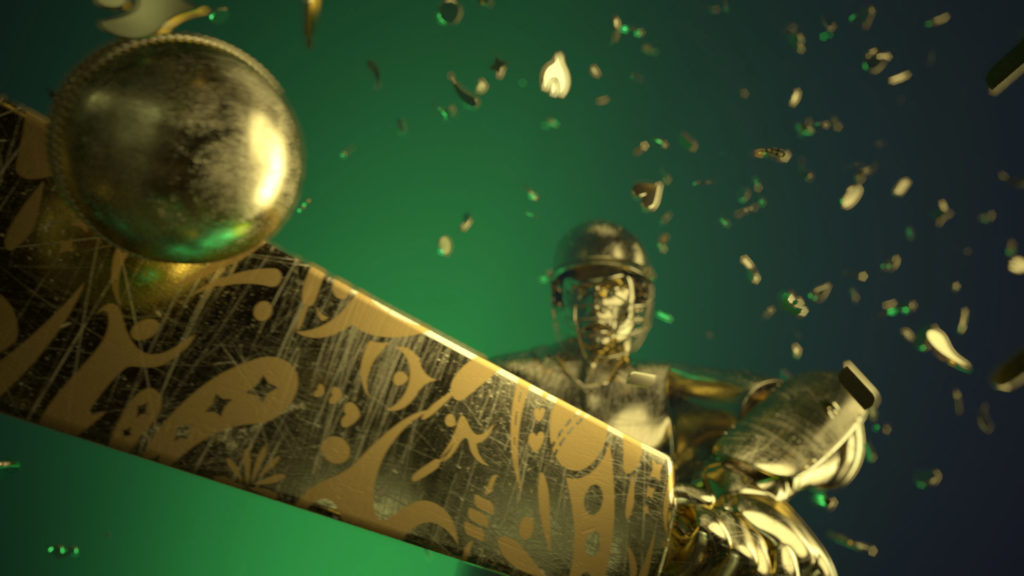 visual effects london pakistan cricket title sequence image