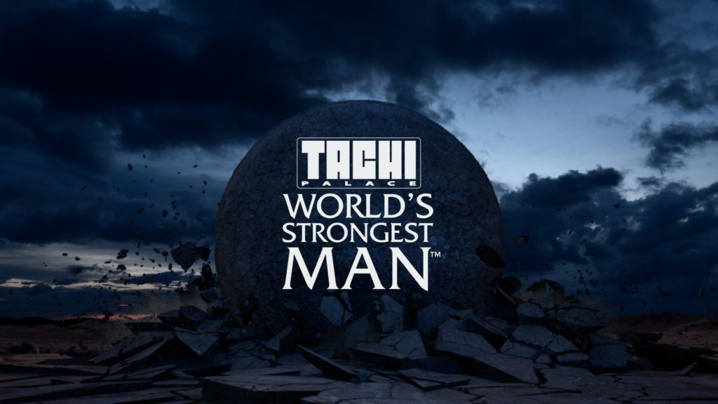 motion graphics world's strongest man title sequence image 1